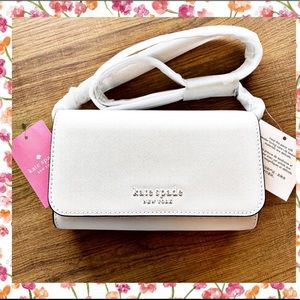 Just In! Optic White Cameron Crossbody Kate Spade
